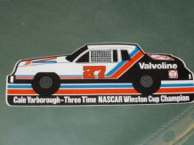 CALE YARBOROUGH 3-Time NASCAR Champion. 1980s sticker
